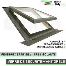 Fenêtre pour toit (complète) - Ligne COMFORT VASISTAS 55x78 (Verre antigrêle) CE