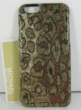 Michael Kors NWT Cheetah Animal Print iPhone 6/6s Phone snap-on Case Cover