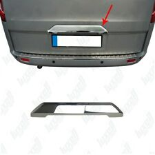 2012Up Ford Transit Custom Tourneo Chrome Rear Trunk Tailgate Boot Grab S.STEEL
