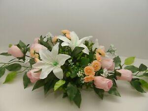 Tischgesteck Hochzeit Kunstblumengesteck Tischdekoration Gesteck Blumen