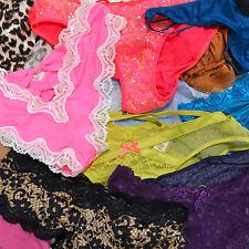 Victoria's Secret Bragas Lote 10 aleatorio Ropa Interior Cheeky Thong Bikini Braga vs