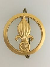 GENUINE France/French Foreign Legion Infantry DRAGO metal beret badge OLD STOCK