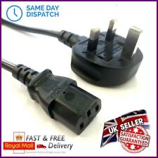 UK Power Cable Mains Cord Wire Lead Plug 2 Metres Brother Printer Series Laser