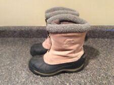SOREL Womens Size 7 Ellesmere II Front Zipper Suede Winter Snow Boots