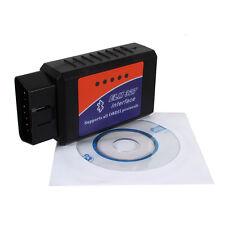 Car Bluetooth Diagnostic Scanner ELM327 OBD2 II Interface Scanner Scan Tool New