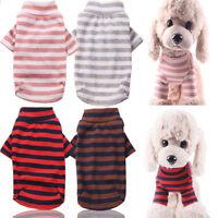 Dog Pet Cat Warm Jumper Sweater Clothes Vest Costume Coat Jacket Apparel XS-XXL