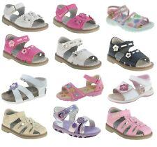 BEPPI infant girls sandals - summer shoes - leather insole sandals-white sandals