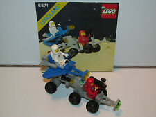 LEGO SPACE No 6871 STAR PATROL LAUNCHER 100% COMPLETE + INSTRUCTIONS 1980s