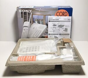 Vintage Sony SPP-205 Cordless Telephone, W/Two-Way Page / Intercom New Open Box