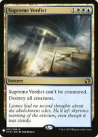 Supreme Verdict x1 Magic the Gathering 1x Mystery Booster mtg card