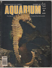 Lot of 5 Issues 1981 Freshwater and Marine Aquarium FAMA Tropical Fish Magazines