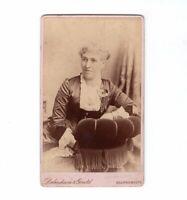 CDV Foto Feine Dame - Bournemouth 1886