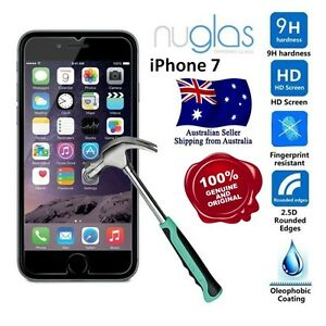 Genuine NUGLAS Tempered Glass Screen Protector for Apple iPhone 7 (4.7 inch)