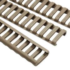 4pcs/Set Handguard Heat Resistant Rifle Ladder Rail Covers Accessories Dark Tan