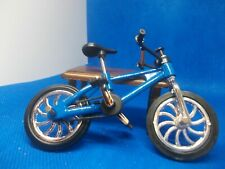 MODERN BLUE BICYCLE FOR A DOLLS HOUSE CHILD