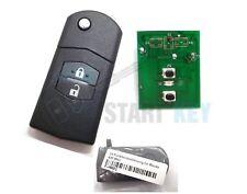 Mazda 2 3 5 6 MX5 RX8 CX7 MPV  Funkschlüssel 434 MHz Key Chiave cle