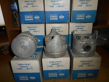 NEW FORD PISTONS & PINS LOT OF TWELVE NOS OEM C5DZ6108K