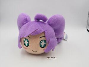 "Pripara B1307 Laala Manaka Nesoberi SEGA Plush 7"" TAG Stuffed Toy Doll Japan"