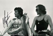 "Giacomo Agostini Superbike TT IOM Hand Signed Photo 12X8"" AA"