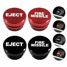 Auto Accessory Fire Missile Eject Button Car Lighter Cover 12V Replacement Decor