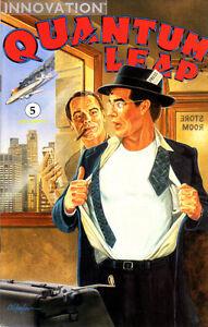 QUANTUM LEAP (1991) #5 - VFN - Back Issue