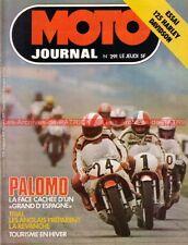MOTO JOURNAL  291 Test Harley Davidson 125 SS Silk Scott 650 Victor Palomo 1976