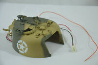 RC 1:24 VS Tank M4 SHERMAN IR INFRARED UPPER Turret VSTANK PRO PART YELLOW CAMO