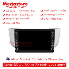 "9"" Octa Core Android 9.1 Car non dvd Media Player For Lexus RX300 RX330 RX400H"