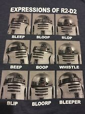 Star Wars R2-D2 T-Shirt Men's Large New