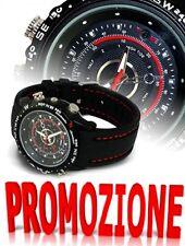 OROLOGIO  SPIA MICRO CAMERA 8GB SPY WATCH MICROCAMERA  FOTOCAMERA REC AUDIO