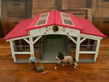 More details for schleich 42344  horse club riding centre stables / barn