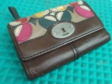 Fossil Vintage Leather Wallet with Cute Leather Design
