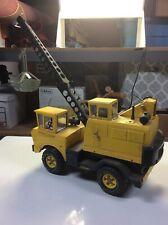 1970s Tonka USA Pressed Steel Mighty Crane Construction Truck Toy