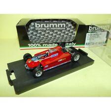 FERRARI 126CK GP DE MONACO 1981 G. VILLENEUVE Muletto T-Car BRUMM R367M 1:43