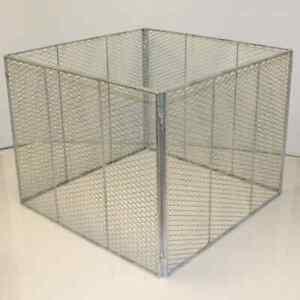 Komposter incl. Gitter für Deckel Metall Brista Drahtkomposter  [25072+25074]