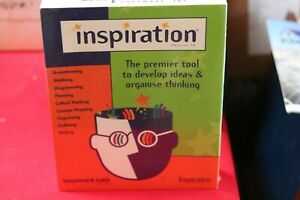 INSPIRATION - Premier Brain Storming Tool to Develop Ideas Organise Mind Map
