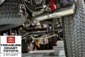 NEW OEM TOYOTA TACOMA 2016-2021 DOUBLE CAB SHORT BED TRD CHROME EXHAUST SYSTEM
