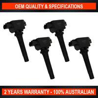 Set of 4 OEM Quality Ignition Coil for Mazda CX-3 CX-5 Mazda 2 Mazda 3 Mazda 6