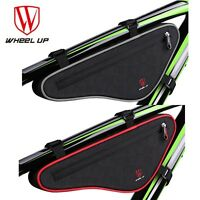 Triangle Cycling Bike Bicycle Front Tube Frame Bag Pouch Holder Saddle Pannier