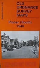 Old Ordnance Survey Detailed Maps Pinner South Middlesex 1940  Sheet 10.06