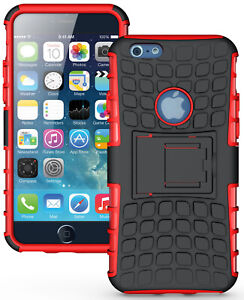 """RED GRENADE GRIP RUGGED TPU SKIN HARD CASE COVER STAND FOR APPLE iPHONE 6 4.7"""""""