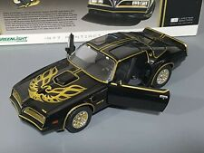 1/18 SMOKEY AND THE BANDIT TRANS AM FIREBIRD MOVIE CAR NEW IN BOX GREENLIGHT