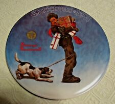Norman Rockwell Christmas 1981 Plate #3413F