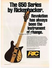 1993 Rickenbacker 650 Sierra Electric Guitar Vtg Print Ad