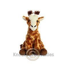 "Plush - Giraffe - Destination Nation - 9"" Stuffed Animal Toy Fun Play"