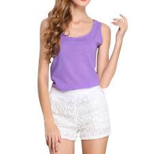 Hot Women Chiffon Sleeveless Blouse T Shirt Summer Loose Casual Vest Tank Top