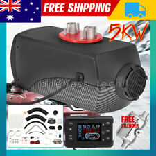 12v 5kw Diesel Air Heater Tank Digital Thermostat Silencer Fliter T-piece Remote