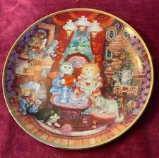 Whisker Wuv Decorative Plate by Bill Bell Franklin Mint Heirloom