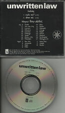 UNWRITTEN LAW Holiday RARE MIX PROMO DJ CD Single 1998