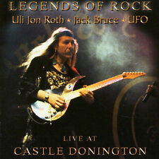 Legends of Rock Live at Castle Donington by Uli Jon Roth CD Jack Bruce UFO